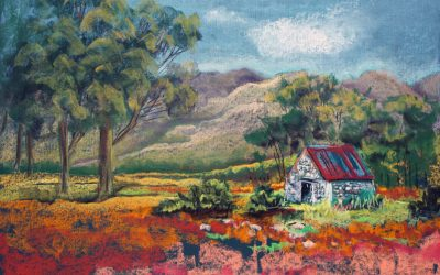 Landscaping in Soft Pastel