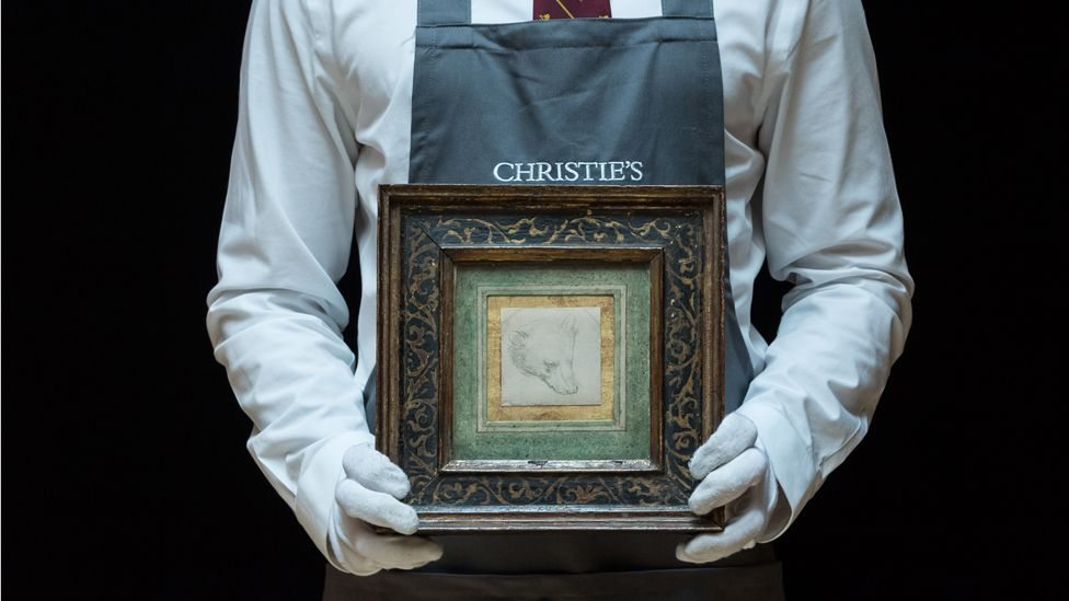 A drawing sells for record £8.8m at auction